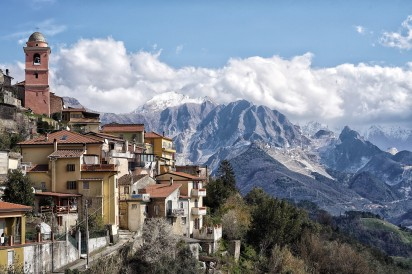 Sorgnano - Carrara Bergdorf / Carrara mountain village