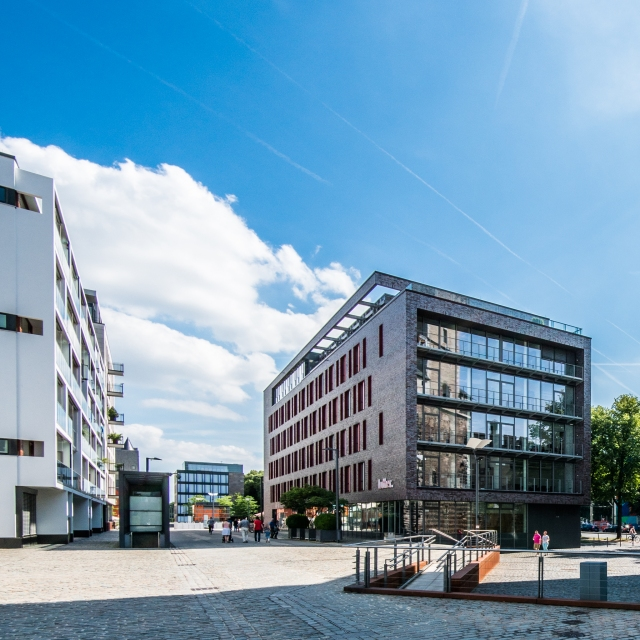 Perspektive Luther-Gebäude